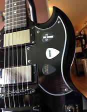 Epiphone G400 SG Sabbath Tony Iommi Clear Tribute Pickguard Kit +Collectors Pick