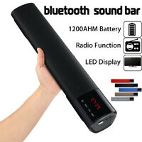 Wireless bluetooth Sound Bar Speaker System TV Theater Home Subwoofer Soundbar