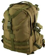 TAS 1198 KHAKI MILITARY RECON MOLLE BACKPACK 35L #FREE 2L WIDE MOUTH BLADDER