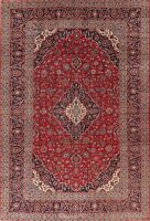 Floral Vintage Area Rug Wool Oriental Hand-Knotted Medallion Traditional 8x12