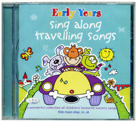 Sing along travelling songs CD. Children's favourite nursery songs NEW & WRAPPED