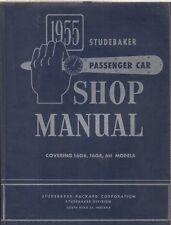 STUDEBAKER MODEL 6H , 16G6 & 16G8 ORIGINAL 1955 FACTORY WORKSHOP MANUAL
