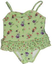Size 18 Months - Baby Girls Chiara Blu Green & Floral print swimsuit  swimwear