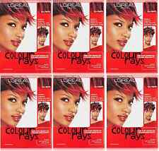 L'Oreal Paris Colour Rays, One Step Brush On Hair Color, Red Rays (6 Pack)