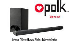 Polk Audio SIGNA S1 Universal Home Theatre System+Wireless Sub Woofer+Bluetooth