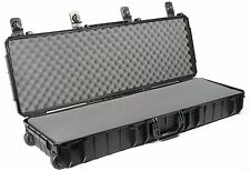 Seahorse rugged waterproof carry case 15530SE with pluck and pull foam
