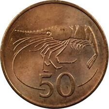 iCELAND - 50 AURAR - 1981 - UNC - SHRIMP