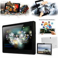 """96E2 7"""" A33 Android 4.4 Tablet PC Quad Core WiFi Bluetooth 3G 1G 4GB Black Hot"""