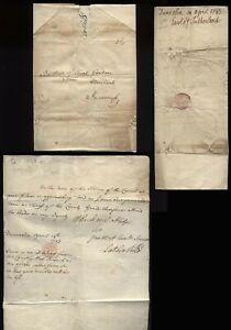1743 EARL of SUTHERLAND, Dunrobin Castle to Baillie Gilbert Gordon, INVERNESS