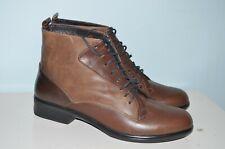 Naot Leather Ankle Boots Arizona Tan Womens Booties Helm EU 42 US 11