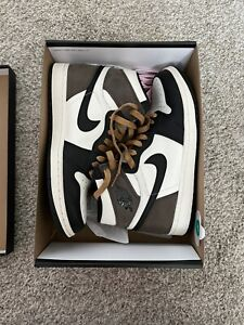 Nike Air Jordan 1 High Mocha 555088-105 Size 8