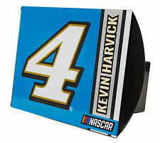 NASCAR #4 Kevin Harvick Metal Trailer Hitch Cover-NASCAR Trailer Hitch Cover