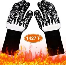 New listing Heat Resistant Gloves Extreme Bbq Oven Cooking Grilling Grill Silicone Mitts