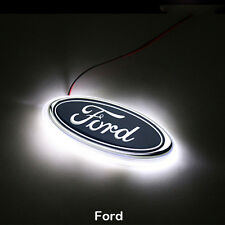 LED Car Logo White Light Auto Rear Emblem Lamp For Ford Focus Ford Mondeo Kuga