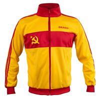 Retro CCCP Sowjetunion Football Fan Sweatshirt Langarm