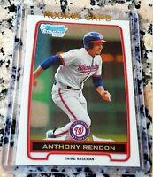 ANTHONY RENDON 2012 Bowman Chrome #1 Draft Pick Rookie Card RC Nats $$ HOT $$