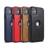 NEW iPhone Leder Schutzhülle Hülle Case Tasche Cover X XS XR 11 12 Pro Max Mini