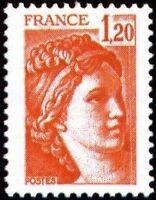"FRANCE N°1974 ""SABINE DE LOUIS DAVID 1F20"" NEUF xx TTB"