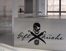 Wandtattoo Gift Küche Kitchen uss080