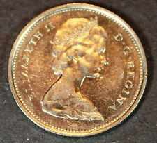 1968 Canada Silver 25 Cents! Almost Uncirculated condition! cq111