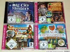 4 fourmilière pc jeux collection Mystery ville Big City pierre philosophale Magic en
