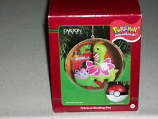 Pokemon Calrton Cards Meganium Jigglypuff Xmas Tree Ornament jiggly Puff Gifts