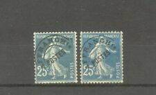 "FRANCE STAMP TIMBRE PREOBLITERES N°56+56a ""SEMEUSE 25c,2 SURCHARGE""NEUFS xx B/TB"