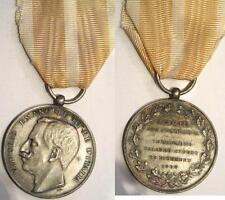 Medaglia in argento terremoto calabro-siculo 1908 tipo 2SJ testa grande