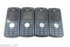 4 Wholesale Lot Lg Kp107a Gsm 850/1900 Cellphone Telcel Power Up Used