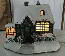 Gorgeous Thomas Kinkade Christmas Village Florist Hawthorne
