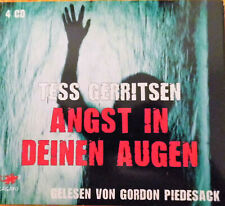 Tess Gerritsen  - Angst in deinen Augen - 4 CDs - 2012