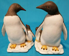 New listing Vintage Fitz&Floyd Penguin Bookends,Penguin Figurines Pristine Condition Taiwan