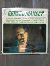 GERARD MANSET 68 1er Album Rare** Mint