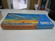 DDR Flugzeug Modellbaukasten KVZ Comet 4 VEB Kunstoffverarbeitung Zschopau RAR