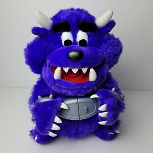 Don't Feed Freddy Talking Monster Plush 2001 Spin Master Toys - Purple
