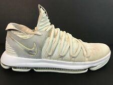 Men's Nike Zoom Still KD 10 Shoes Size 13 White Platinum Kevin Durant 897815-100