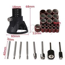 29x Rotary Tool Accessories Grinding Polishing Sanding Drill Bits Woodworking