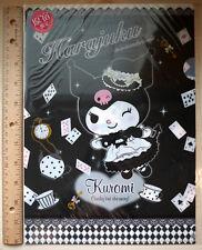 AUTHENTIC Japan Harajuku EXCLUSIVE Sanrio Vivitex Kuromi Clear File Folder