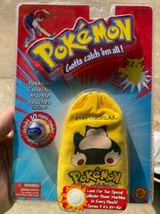 Snorlax - Pokemon Collector Marble Pouch - New in Package by Toy Biz - 2000