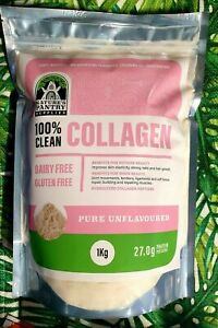 Nature's Pantry Supplies Hydrolysed Collagen Peptides Protein Powder Pure 1kg
