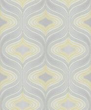 Grandeco Wall Fashion Beige//Blue Geometric Glitter Wallpaper GX-49309