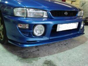 SUBARU Impreza STi WRX V-LTD style Front Lip Spoiler 1999-2000 GC8. HT Autos UK.
