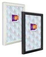 Vivarti Thin Box Picture Photo Certificate Frame Black White Oak  A1 A2 A3 A4