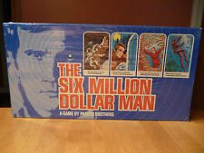 The Six Million Dollar Man, Steve Austin Lee Majors, Parker Brothers Board Game