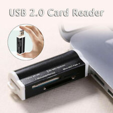 All in One USB 2.0 SDHC TF M2 Micro Memory Card Reader Adapter SD MMC
