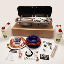 SMEV 9222L SINK AND HOB FULL HOT & COLD INSTALLATION KIT FOR CAMPERVAN MOTORHOME