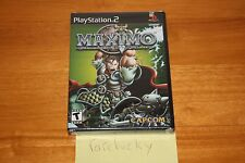 Maximo: Ghosts to Glory (Playstation 2 PS2) NEW SEALED BLACK LABEL W/UPC, MINT!
