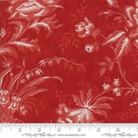 """Moda Wide Backing Red Fabric 108"""" Wide Snowberry Berry  Quilt #1 100% Cotton"""