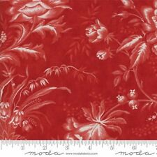 "Moda Wide Backing Red Fabric 108"" Wide Snowberry Berry  Quilt #1 100% Cotton"