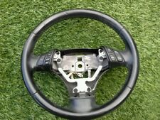 2006-2008 MAZDA 6 *SEDAN* STEERING WHEEL BLACK OEM SEE PHOTO 08-06
